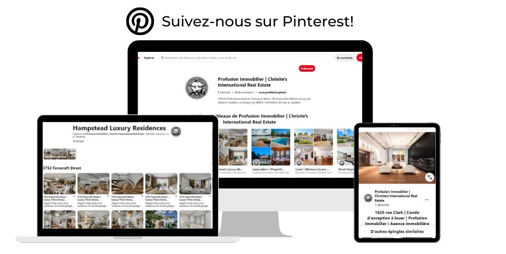 Trouver Profusion Immobilier sur Pinterest!