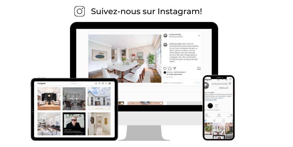 Trouvez Profusion Immobilier sur Instagram